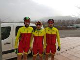 Dos pruebas de mtb en Banyeres y Villajoiosa y una de carretera en Torre Pacheco disputaron los ciclistas del CC Santa Eulalia este pasado fin de semana