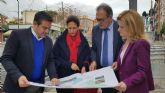 La diputada Isabel Borrego y los senadores Pedro José Pérez y Nuria Guijarro visitan Alcantarilla