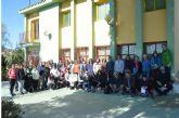 Profesorado de Geología de los institutos de la Región de Murcia realiza una visita a los lugares de interés geológico del norte de Molina de Segura y a la exposición de fósiles del Centro de Información de la Naturaleza Alto del Rellano