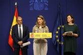 Díaz señala la economía social como un 'eje de acción' del Ministerio de Trabajo