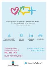 La Fundación 'la Caixa', en convenio con el Ayuntamiento de Mazarrón y en colaboración con el Centro de Día, impulsa talleres virtuales para las personas mayores
