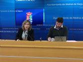 El presupuesto del Ayuntamiento de Molina de Segura para el año 2017 es de 58.083.192 euros