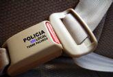 Nueva campaña de vigilancia y control del cinturón de seguridad del 13 al 19 de marzo en Torre Pacheco