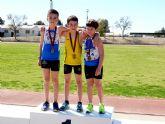 Broche de oro del Club Atletismo Alhama en las combinadas de menores