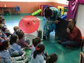 Cuentacuentos por la Igualdad de niños y niñas, en los Centros de Atención a la Infancia y Escuelas Infantiles Municipales de Torre-Pacheco