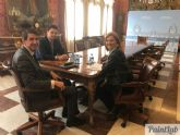 El Alcalde demanda en Madrid mejoras para los Juzgados de San Javier