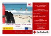 Curso gratuito de socorrismo en playas y piscinas