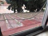 Podemos Alcantarilla denuncia el problema de salud que supone la lentitud en la retirada de amianto de los colegios de Alcantarilla y la Región