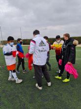 La Fundación Real Madrid inicia una nueva temporada de la escuela socio-deportiva de fútbol en colaboración con el Ayuntamiento de Puerto Lumbreras