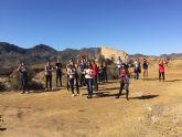 Alumnos de arquitectura de la UCAM visitan las minas de Mazarr�n y aportan ideas para su proyecci�n