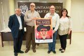 Teatro en la antigua Universidad Popular para homenajear a Cervantes