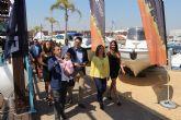 Más de 40 expositores muestran sus ofertas y servicios en la VII Feria Marina de Las Salinas