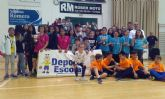 Se pone punto y final a la Fase Local de Baloncesto de Deporte Escolar con la entrega de trofeos
