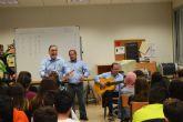 Los troveros de la asociación José María Marín acercan su arte al IES La Florida