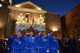 El Viernes de Dolores se tiñe un año más de blanco y azul en Las Torres de Cotillas