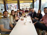 Los jóvenes de Alcantarilla piden al PSOE que en su programa electoral incluya la puesta en marcha de un bono mensual de autobús con viajes ilimitados