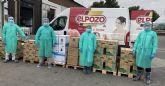 El Pozo Alimentaci�n dona al Ministerio de Sanidad un mill�n de unidades de protecci�n sanitaria