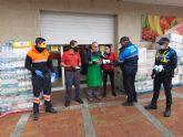 El Gobierno de España reparte en Mazarr�n 6000 mascarillas ante el regreso de algunos trabajadores a su actividad laboral