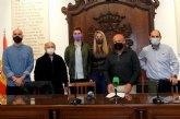 Dirigentes de IU de toda la comarca del Guadalent�n declaran la guerra a las ETTs