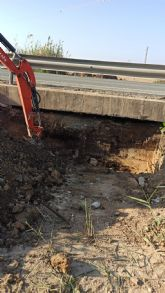 Continúan los trabajos de apertura de cauces y puentes contra las riadas