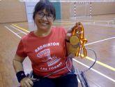 Amalia Martínez, del 'Club Bádminton Las Torres', se cuelga dos oros y una plata en el Nacional de parabádminton
