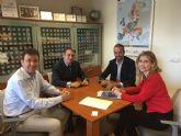 La Alcaldesa de Molina de Segura se reúne con el Director General de Participación Ciudadana, Unión Europea y Acción Exterior para impulsar proyectos europeos en el municipio
