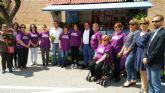 Totana conmemora el Día Internacional de la Fibromialgia y la Fatiga Crónica con la lectura de un manifiesto y acciones de sensibilización