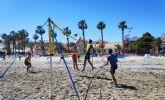 La cuarta edición del Villananitos Beach Volley congrega a más de un centenar de jugadores