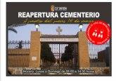 Los cementerios de La Unión y Portmán, abrirán sus puertas a partir del jueves 14 de Mayo