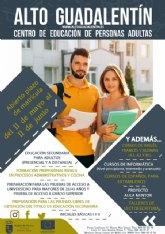 Abierto el plazo de matriculación para los cursos del Centro de Educación de Adultos de Mazarrón