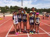 El Club Atletismo Mazarrón consigue cuatro nuevas medallas en la final regional de categorías inferiores