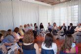 Clausuran en Alcantarilla la reunión de la Mesa de coordinación del programa de Garantía Juvenil, en la que se integra también el municipio de Murcia