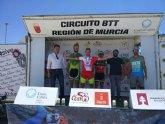 Francisco Cánovas, del CC Santa Eulalia, campeón regional de XC en categoria m40b