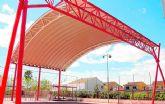 El PSOE insiste en la necesidad de dotar de sombras a los centros educativos de Puerto Lumbreras