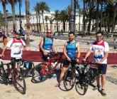 El Club Totana Triathlón estuvo presente en el Sertri de Cartagena y en el Valencia 113