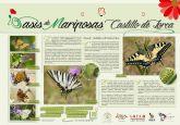 El Castillo de Lorca entra a formar parte del Proyecto 'Oasis de Mariposas' impulsado por la Asociación Española para la Protección de las Mariposas y su Medio