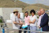 El nuevo sistema de filtración del tratamiento terciario de la depuradora de Puerto Lumbreras minimiza el riesgo de roturas
