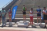 Antonio Luis Alcaraz y Esmeralda Agullo, ganadores del Triatlón de Calasparra