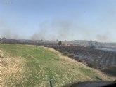 Dan por 'estabilizado' el incendio forestal declarado en Moratalla