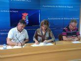 El Ayuntamiento de Molina de Segura firma un anexo al convenio con la Asociación Cultural La Cruz de La Torrealta para el desarrollo de los actos en torno al Vía Crucis Vivente