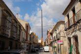 Retirada la gran antena de telefon�a en la calle Corredera