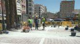 Comienzan las necesarias obras de reparación del Paseo