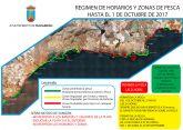 Alcaldía aprueba una nueva regulación de la pesca deportiva en la costa para proteger el baño y a usuarios de playas caninas