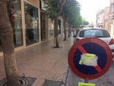 El próximo lunes 16 de julio comienzan las obras de acondicionamiento de las aceras en la calle Juan XXIII