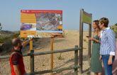 Inauguradas las obras de acondicionamiento y señalización en los senderos de la Rambla Salada