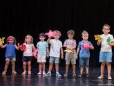Educación pone sobre el escenario a los niños del primer turno de las ´Colonias Musicales´ y ´Ven a cantar y bailar´