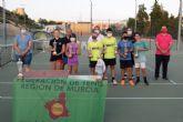 Sofia Minaeva del club de tenis Mazarrón se clasifica para la final nacional de este deporte en categoría alevín