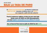 Puerto Lumbreras registra la cifra de paro más baja desde enero de 2009