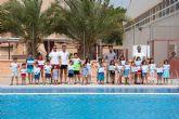 Entregados los diplomas del segundo de los cursos de natación