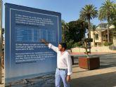 Medio Ambiente lleva a pie de calle la información sobre los análisis semanales del Mar Menor